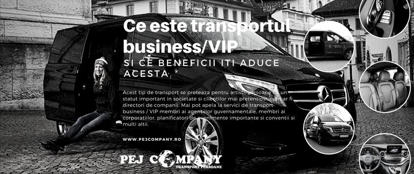 Ce este transportul business / VIP si ce beneficii iti aduce acesta