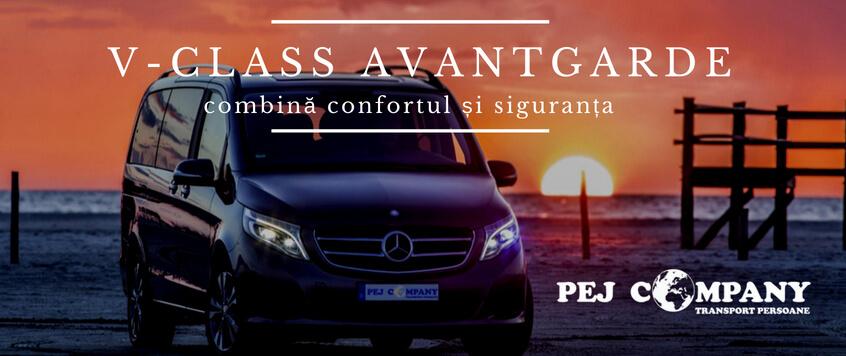 Mercedes-Benz, V-Class AVANTGARDE combină confortul și siguranța