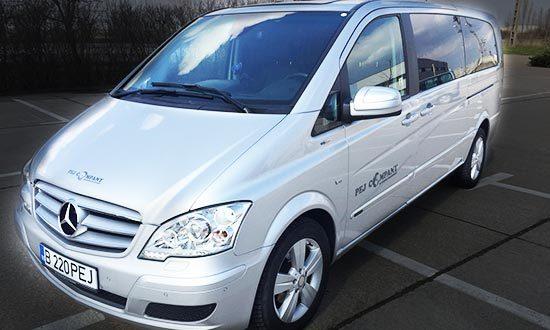 Mercedes V. 7+1 locuri / VIP